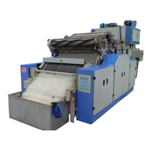 Wool Textile Machinery Alpaca Fiber Sheep Wool Carding / Cashmere Dehairing Machine