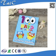 School activity coloring book/ coloring painting book journal/ coloring drawing book