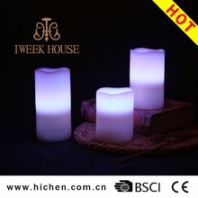 Wholesale Colorful Lights Shadow Led Candles