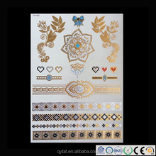Shiny Metallic Tattoo Flash Eyeline Tattoo Sticker