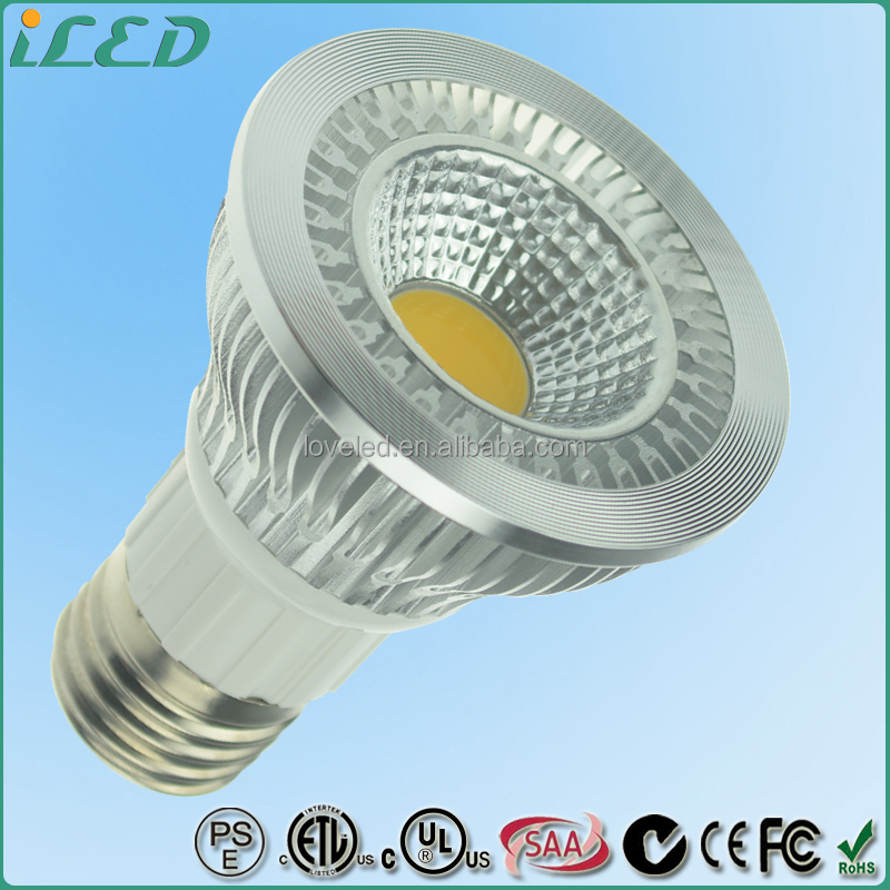 ETL cETL Warm White COB 5W 450 Lumen LED Bulb PAR20 Dimmable