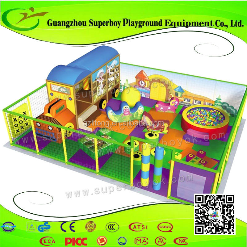 Entertainment Toys Low Cost Playground Soft Ground For Children 154-20b