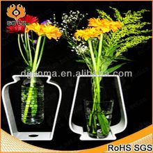 offer where to buy acrylic vases,black mosaic vase,led flower branch light