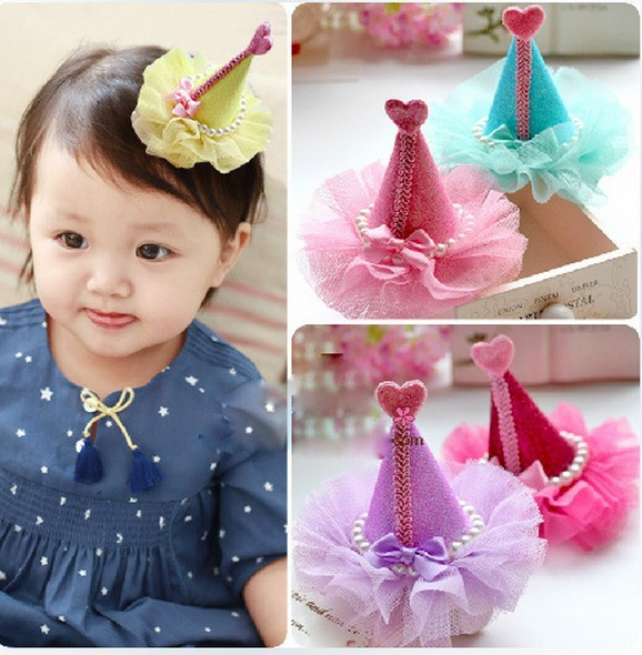 Fancy Items For Children Birthday Hat Made In China Hairpins