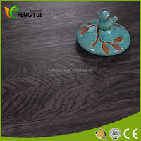 Household PVC Vinyl Wood Grain Flooring For Home Decoration