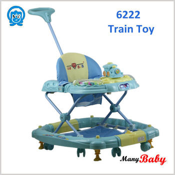 old fashioned high quality swing function baby doll baby walker