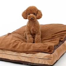 Wholesale Orthopedic Durable pet cushion luxury soft plush dogs and cats pet bed