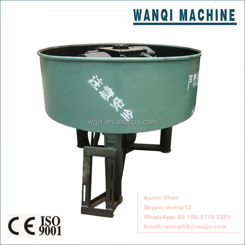 Wanqi S160 Coal Wheel Mixer <strong>Price</strong> Advantaged Mixing Machine