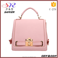 Wholesale custom new style women colorful handbags modern techniques girl trendy color one shoulder bags tote bags
