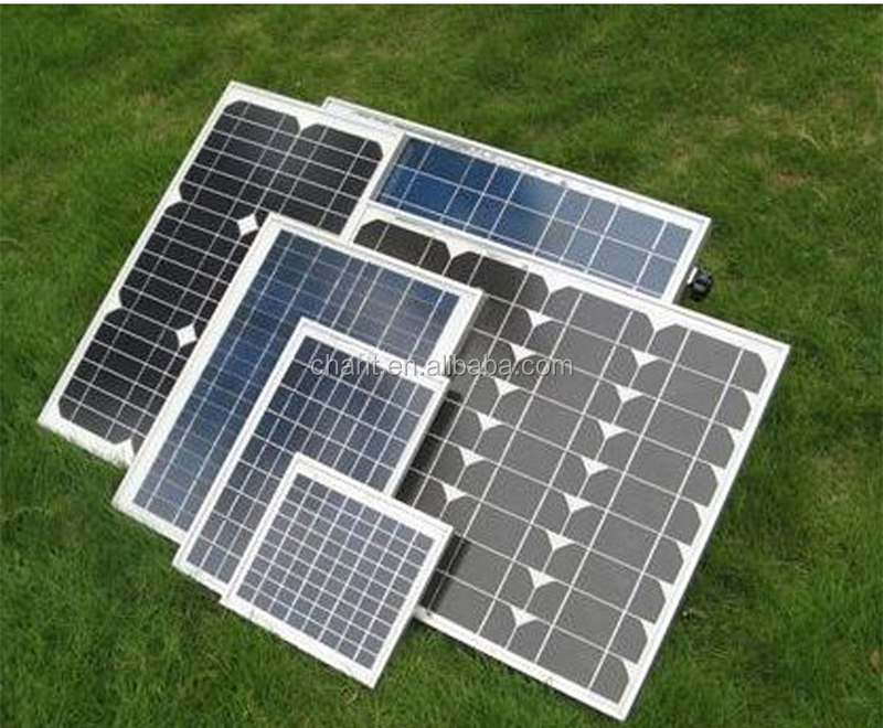 Low price and MOQ 5w to 250 watt photovoltaic solar panel