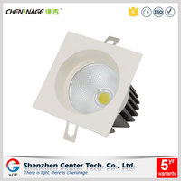 Commercial lighting aluminum led down light luminaire manufacturers