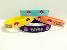 new design pokemon go Silicone Wristbands / silicone bracelet factory