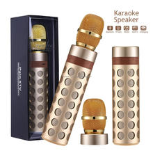 Mini Handheld KTV Karaoke Amplifier Portable Wireless Karaoke Speakers With Microphone