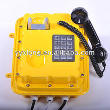auto telephone Answering machine with anti-explosion junction box