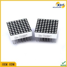 Dip series Red color LED Matrix 16 Flexible led dot matrix, 8 8 dot matrix LED display