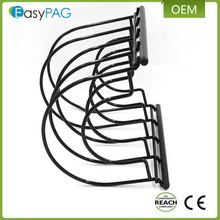 Wholesale Custom 5 tier Cookware Rack Frying Pan Sorter Pan Organizer Rack