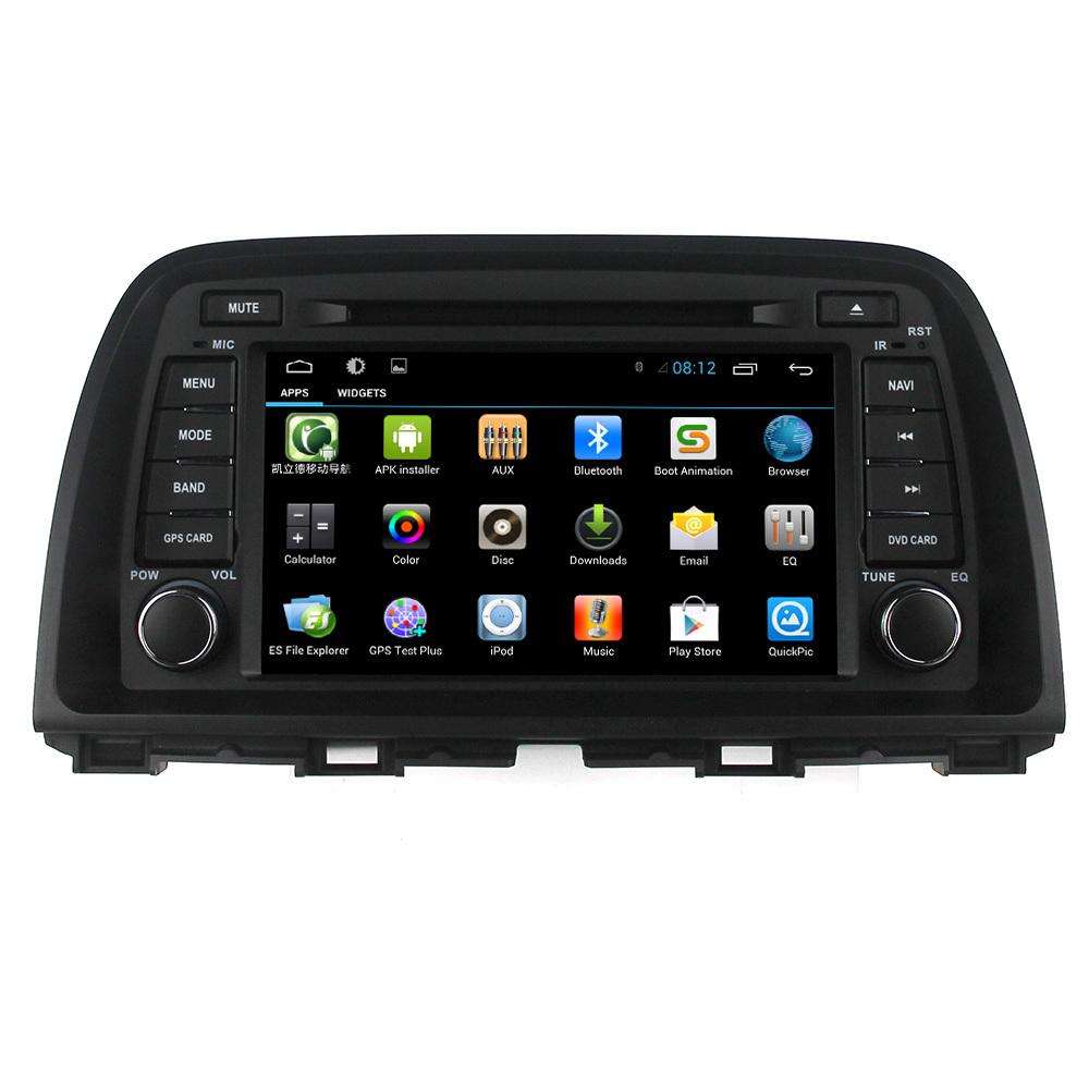 Quad Core Pure Android 4.4 Mazda Cx-5 2014 Car Dvd Player ...