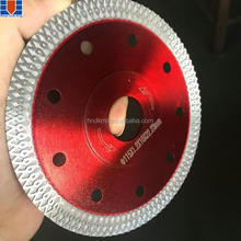 X-turbo hot pressing diamond saw blade / diamond cutting disc 115mm 105mm 125mm for tiles ceramic fiberglass and stones