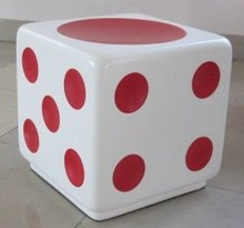 cube modern bean bag sofa stool dice bean bag chair
