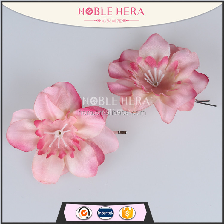 Noble Hera 41R090KY Fabric flower <strong>hair</strong> pins jewely garment <strong>accessory</strong>