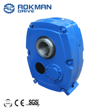 Sturdy and Durable AOKMAN SMR model B C D E Series Shaft Mounted Gearbox For Conveyor Belt