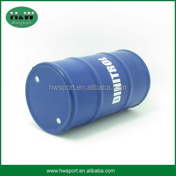 Promotional Toy Oil Drum Shape Stress Ball