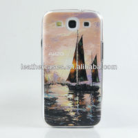 New Technology Hot sell colorful 3D carving cell phone cover case for SAMSUNG S3