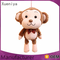 Wholesale China Animal Keychain OEM Stuffed Monkey Cheap Plush Toys