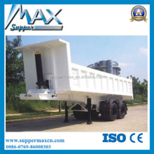 China Factory Carbon Steel 3 Axle Tipping Tipper Semi Trailer Dump Truck Trailer