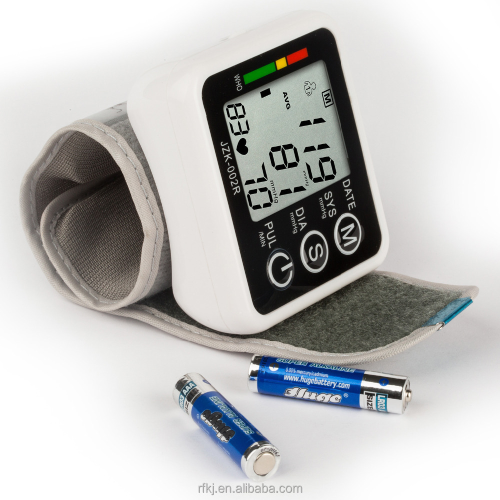 Portable Wrist Blood Pressure Meter Smart Automatic Wrist Blood Pressure Monitor