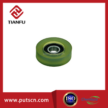 PU rubber bearing,plastic bearing wheel