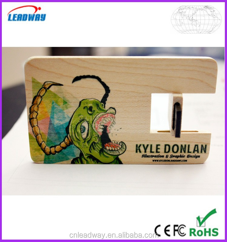 2016 new engraving logo usb flash drive card,8gb bulk wood usb flash drive,16gb usb flash drive wood