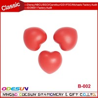 Universal NBCU FAMA BSCI GSV Carrefour Factory Audit Manufacture customized heart shaped pu stress ball