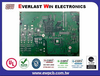 Networking Communication Multilayer Printed Circuit Board with Immersion Silver Finishing PCB