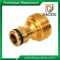 "Forged 1/4"" or 3/4""Brass Male Threaded Garden Hose Quick Connector Union Brass Fitting For Pipe"