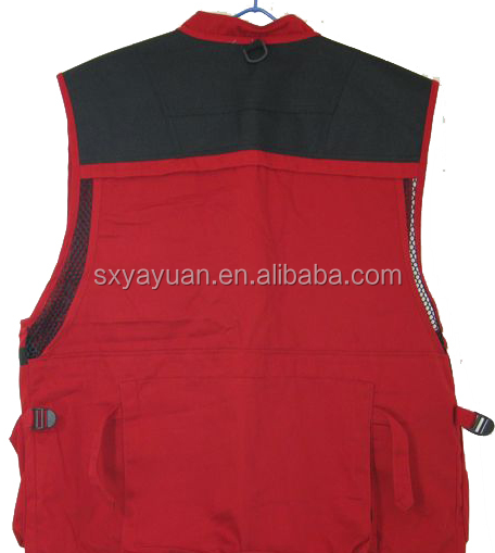 mens outdoor travel camera photo vest