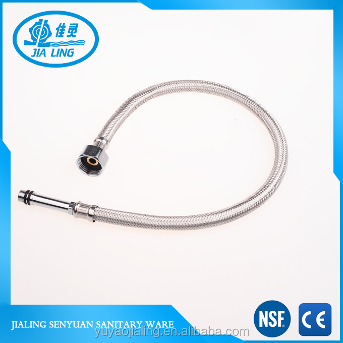 304 stainless steel point of cold and hot water hose,corrosion resistance liquid tight flexible metal hose