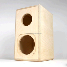 China manufacturer Oem 16 inch empty speaker cabinets empty plywood high power speaker box for Fostex FF165WK driver unit