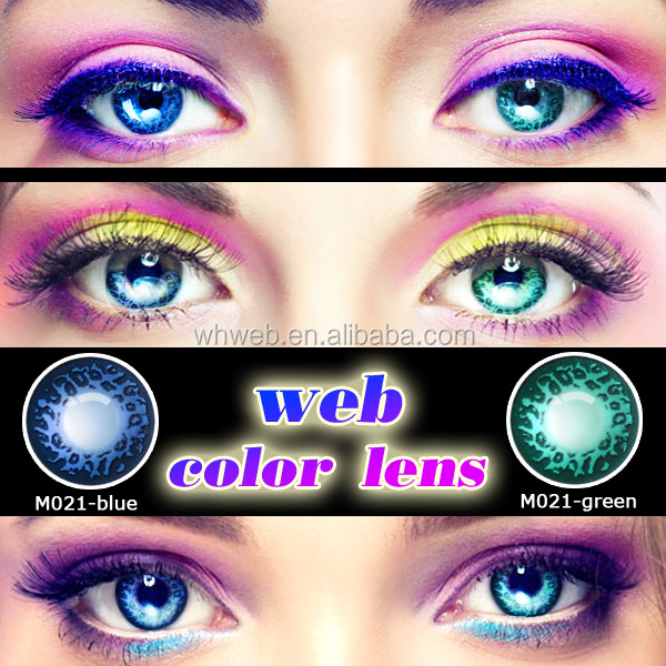 Very cheap colored beauty cosmetics contacts and color contact lens