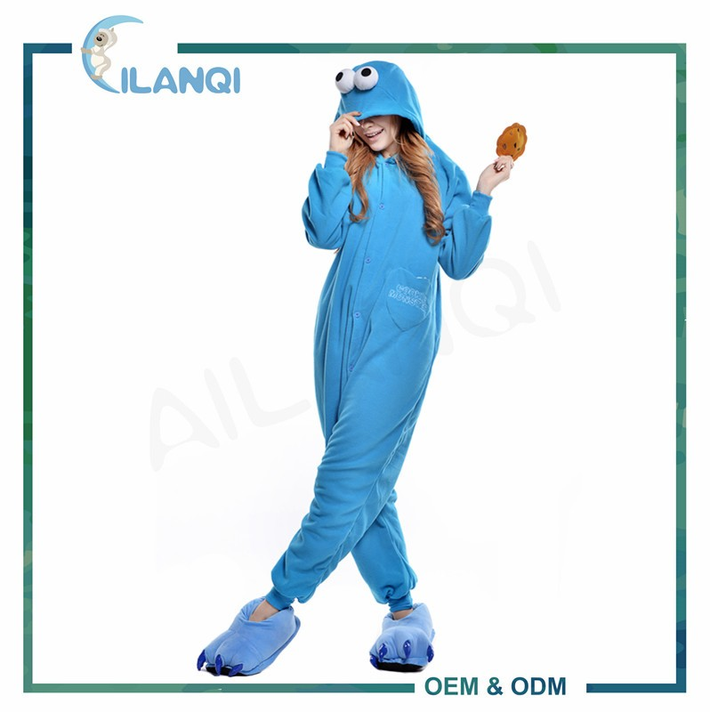 ALQ-A070 Funny anime movie character cosplay adult onesie costume men
