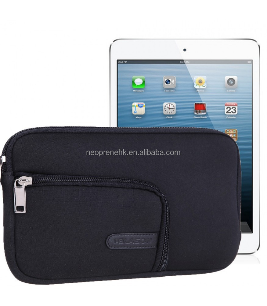 Black Style Neoprene For 10 Inch Tablet Case Tablet Pouch