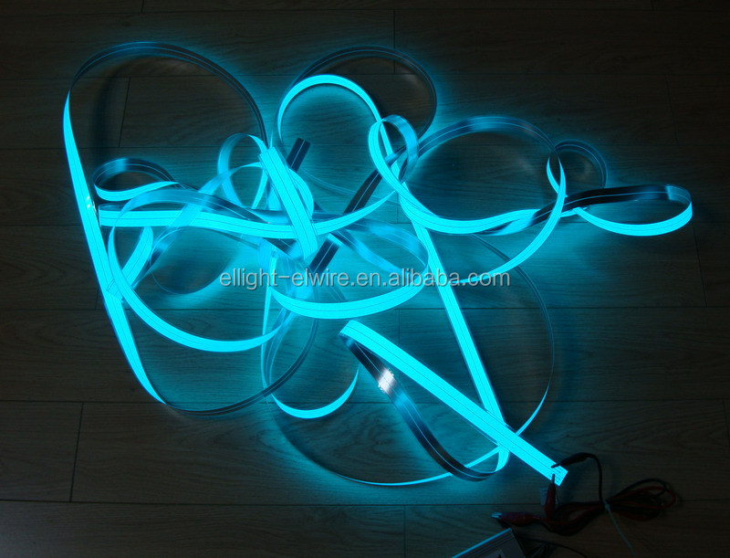 High brightness Cuttable electroluminescent tape / Cuttable electroluminescent strip / Cuttable electroluminescent belt
