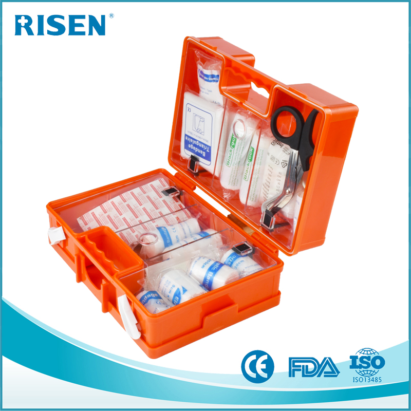 High Quality ABS plastic first aid box Home Medical Plastic First Aid Kit Tool Box
