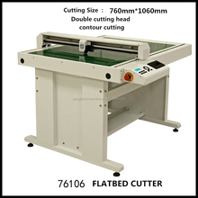 Flatbed Cutting Plotter,Cad Plotter,High Quality Cnc Flatbed Plotter Cutter for garment cutting(YL-FLTC1215)