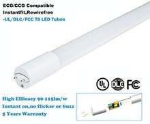 UL Ballast compatible high quality whole PC Housing 24W led tube lighting LED T8 InstantFit Lamp