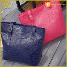 Wholesale <strong>Fashion</strong> Lie Fallow Euramerican Crocodile Skin Leather Handbags