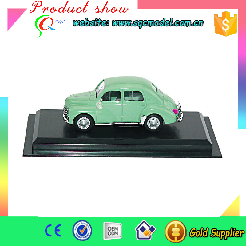 Indoor plastic toy car slide with fine details and customized logo