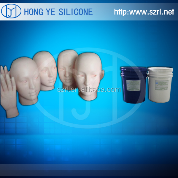 soft and strong dragon skin silicone for making lifelike skin and animatronics