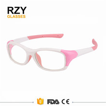 Lovely cartoon chidren glasses flexible soft rubber frame customized sunglasses cute high quality kids glasses