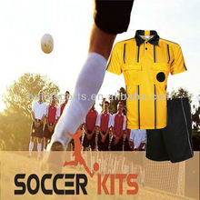 Cool Dry Hot Sell Custom Made Soccer Referee Uniform